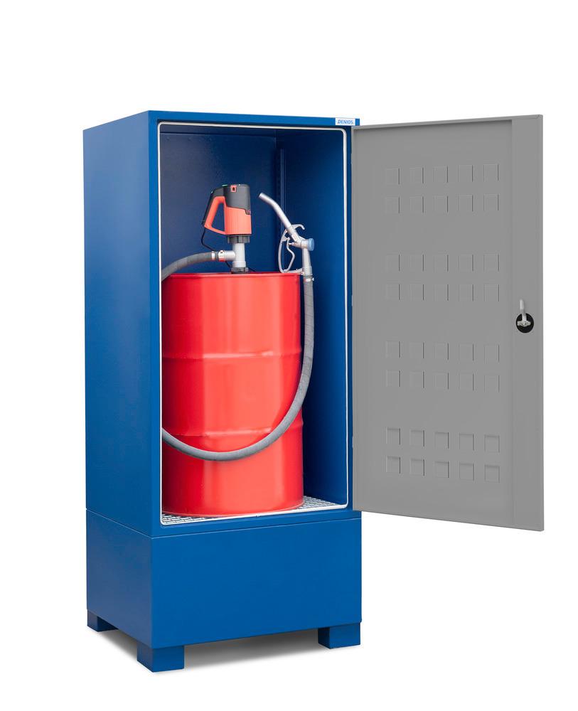 Gefahrstoffdepot Securo Typ SC-1 für 1 Fass à 200 Liter (Abfüllpumpe optional)