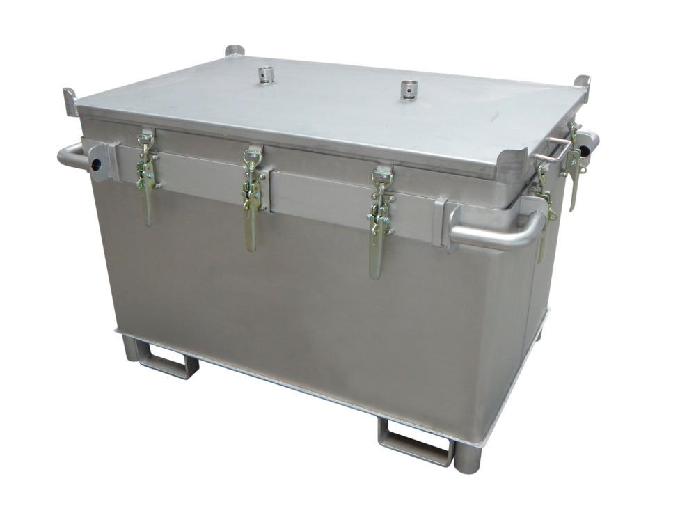 Einfahrtaschen, Druckventile und Spannverschlüsse sorgen für eine praktische Handhabung und Sicherheit