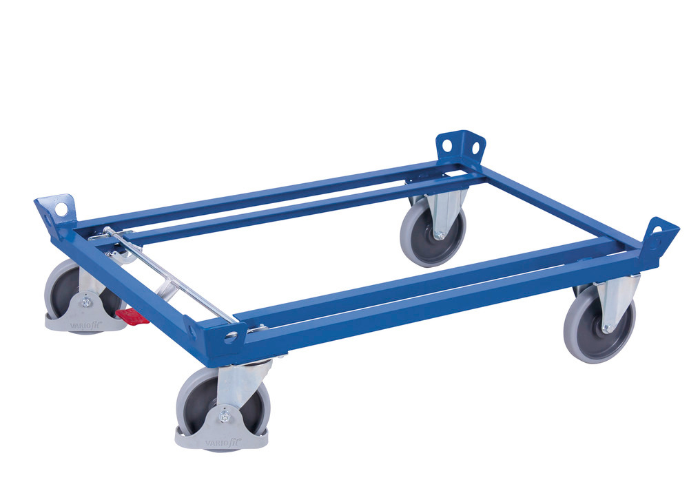 Fahrgestell mit Ladehöhe 285 mm und TPE-Bereifung