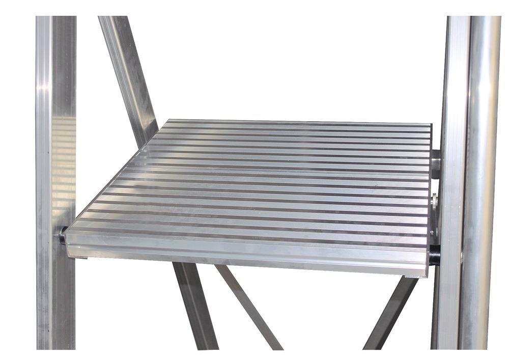große standsichere Plattform 500 x 450 mm