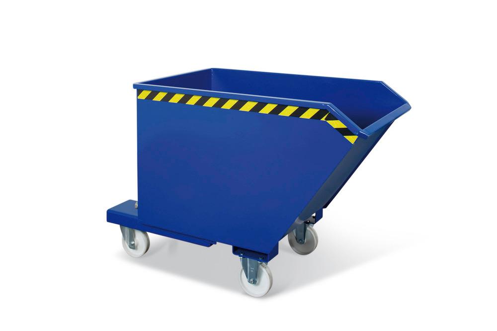 Späne-Kompaktkipper, in verschiedenen Größen erhältlich (Radsatz optional)