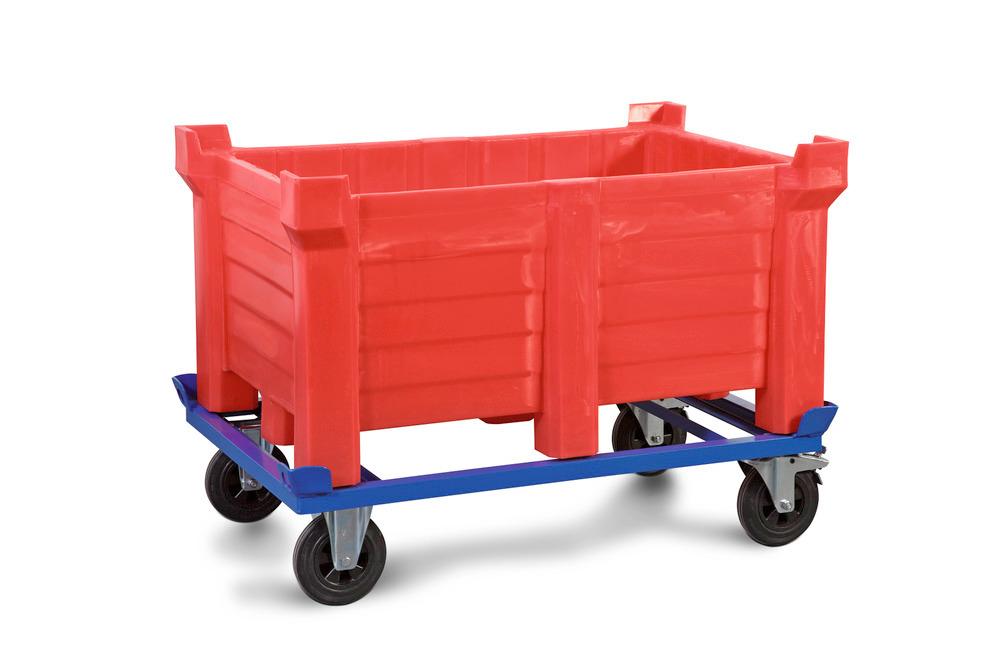 Fahrgestell für Stapelbehälter