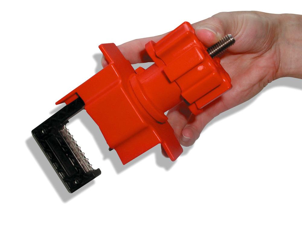 Kleine Ventilabsperrung: Hebelstärke 19 mm, große Ventilabsperrung: Hebelstärke 32 mm.