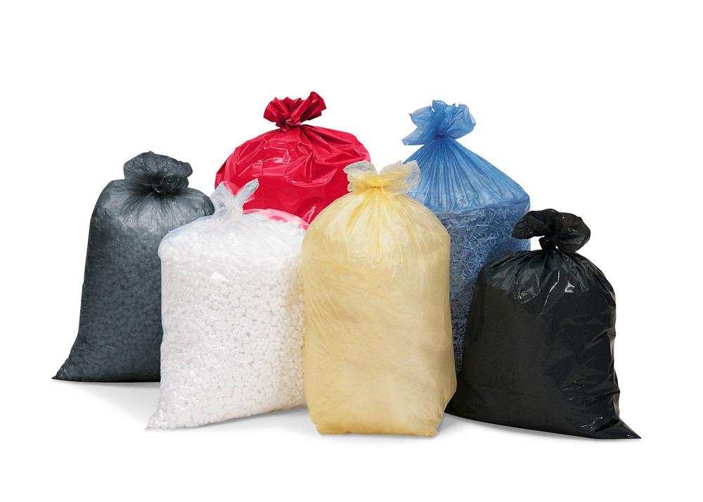 Abfallsäcke aus Kunststoff