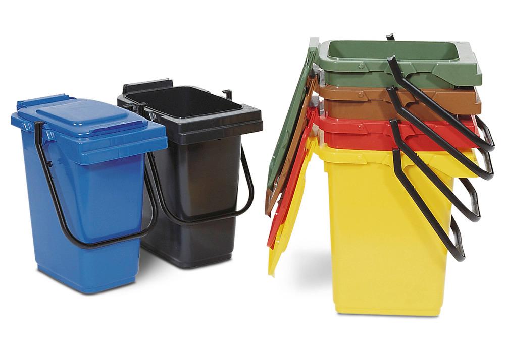 Vorsortier-Eimer, 25 Liter, in 6 Farben lieferbar