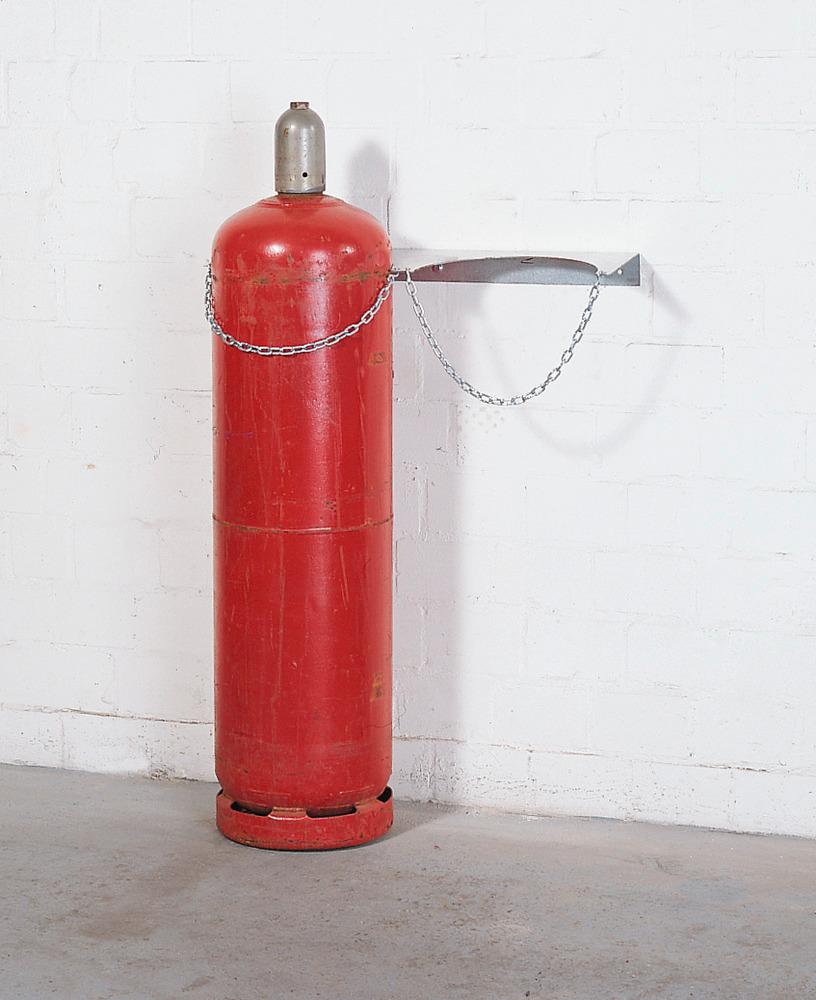 Wandhalterung Typ WH 320-S, für bis zu 2 Gasflaschen mit max. Ø 320 mm