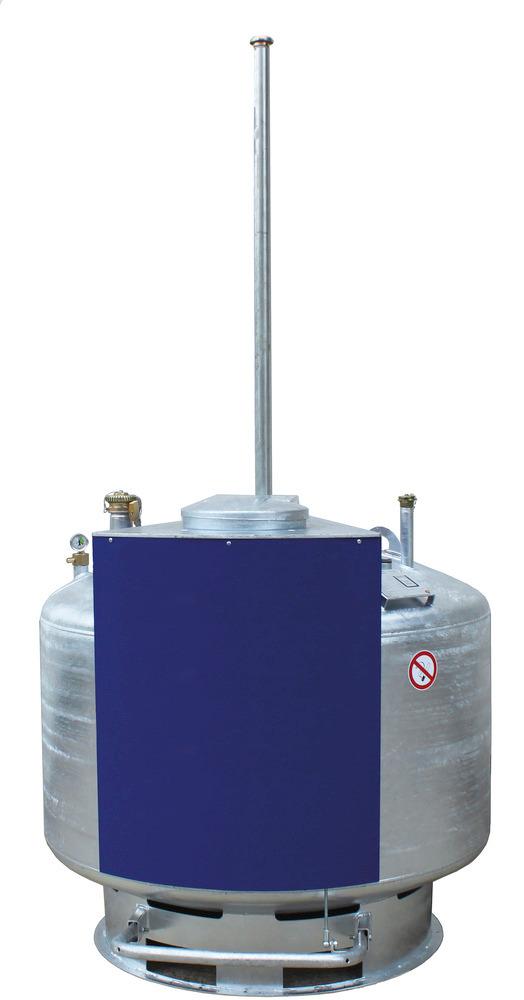 Gefahrstoff-Depot, von 250 bis 950 Liter, Bedienung durch Jedermann.