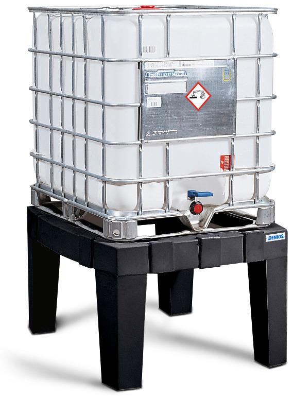 Der stabile Lagerbock ist auf Wunsch einzeln lieferbar.