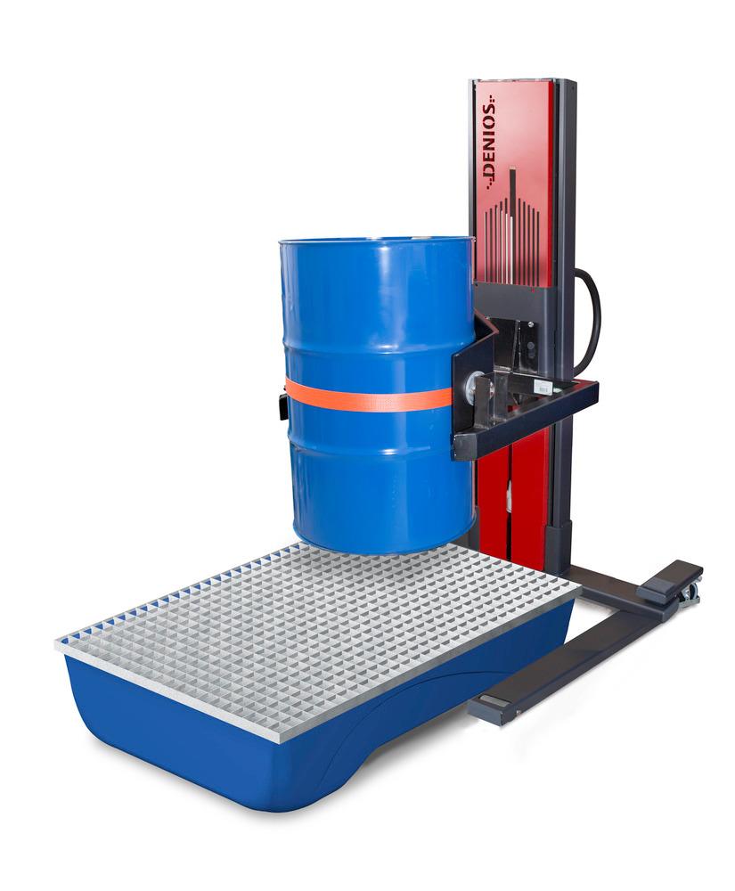 Fasslifter Secu Ex - mit Fasswender Typ W für Stahl- und Kunststofffässer