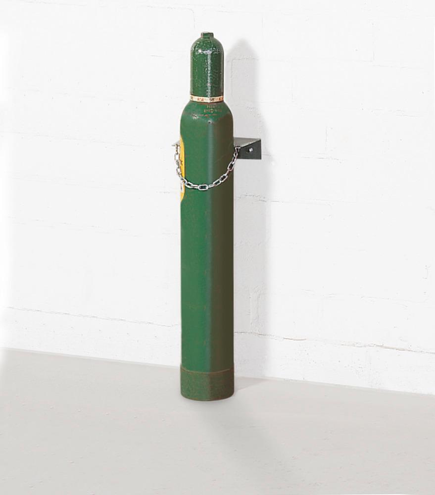 Wandhalterung Typ WH 140-S, für bis zu 3 Gasflaschen mit max. Ø 140 mm