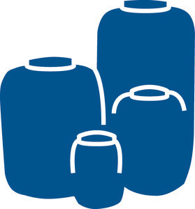 Lagerbehälter und Dosierbehälter